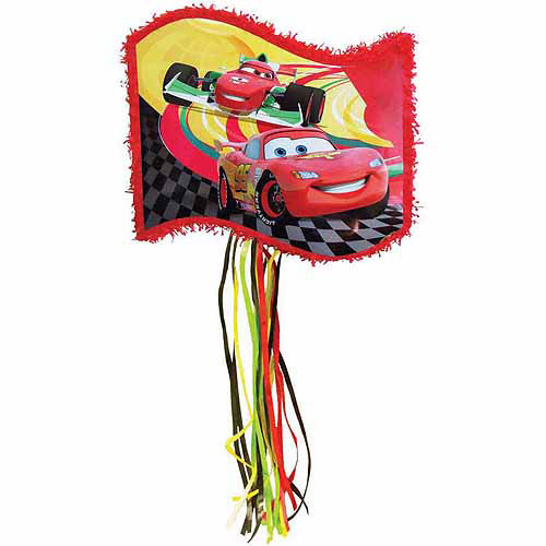 Disney Cars Flag Pinata