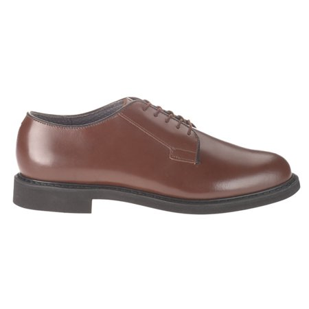 Bates Women's Oxford Premium Leather Formal Uniform Dress Shoe Bates Mens Leather Oxford
