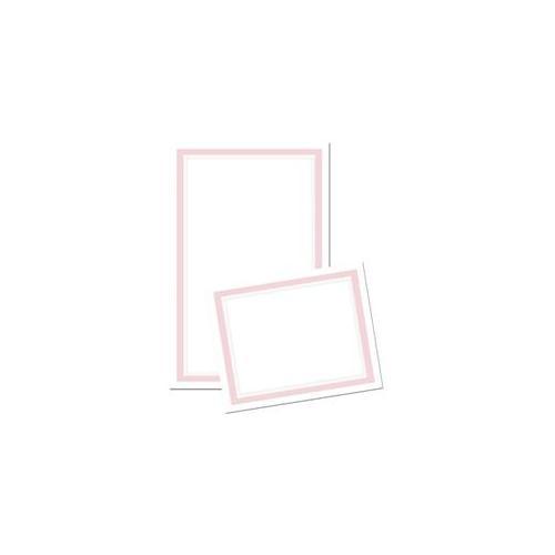 Image Shop 74922 Border Invitation and Response Card Kit - Pink