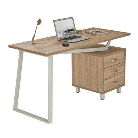 Incredible Techni Mobili Modern Design Computer Desk With Storage Rta 2333 Birch Download Free Architecture Designs Scobabritishbridgeorg