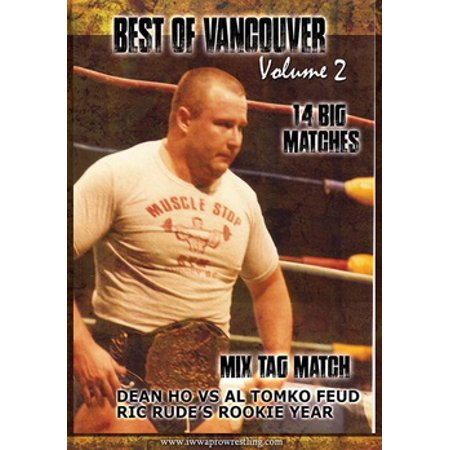 The Best of Vancouver Wrestling Volume 2 (DVD)