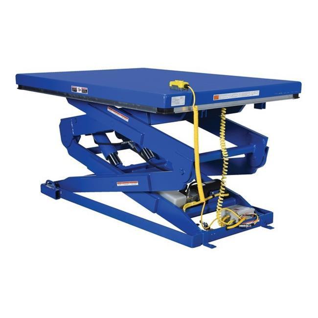 Vestil EHLTD-3-70 Double Leg Scissor Lift Table, 72 x 48 in. - 3000 lbs