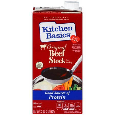 Kitchen Basics All Natural Original Beef Stock 32 Fl Oz