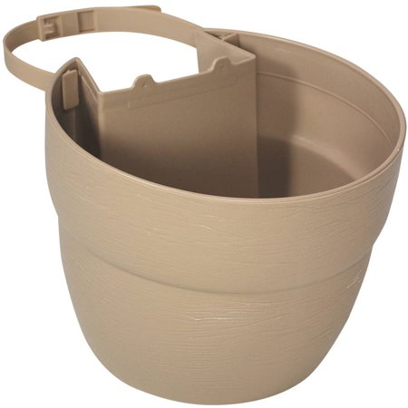 Emsco Group 2460 1 Bloomers Post Planter  For 4X4 Posts  Sand