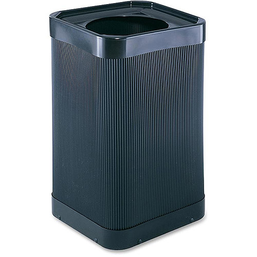 """Safco At-Your-Disposal 12"""" Open Waste Receptacle"""