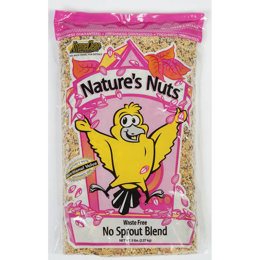 Natures Nuts 00231 20 Lbs Waste Free No Sprout Blend