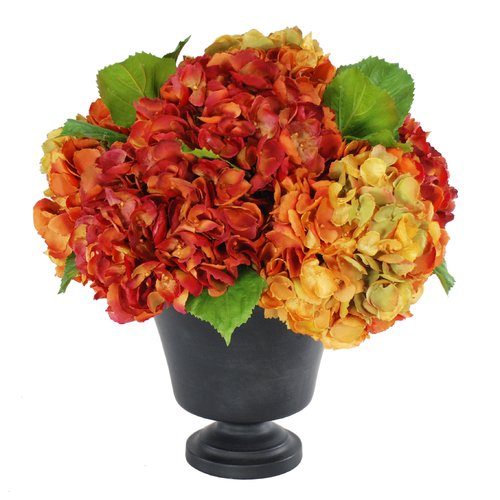 Jane Seymour Botanicals Hydrangeas Centerpiece in Planter
