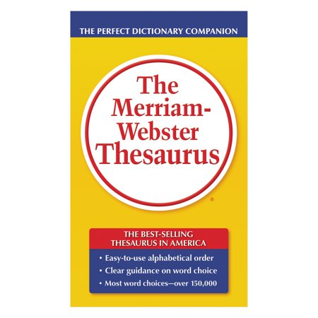 Merriam Webster Paperback Thesaurus, Dictionary Companion (Websters Calendar)