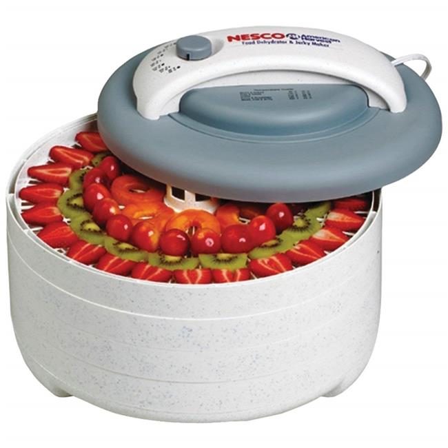 Nesco FD-61CN American Harvest Snackmaster Encore Four Tray Food Dehydrator