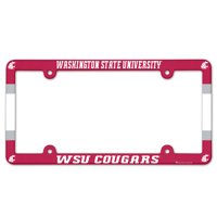 American Logo Products Washington State Cougars License Plate Frame