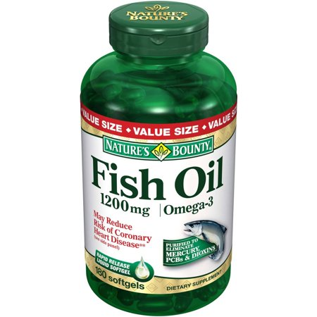 Nature 39 s bounty fish oil dietary supplement softgels for Nature s bounty fish oil