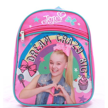 JoJo Siwa Girls Toddler Mini Backpack Book Bag