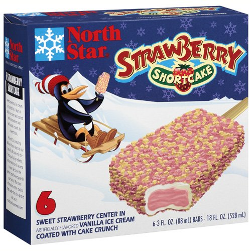 Ice Cream Specialties North Star  Ice Cream Bars, 6 ea