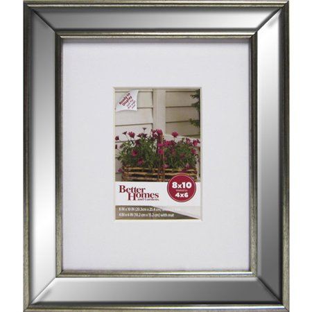 better homesgardens bhg mirrored 8x10 m4x6 frame - Mirrored Frame