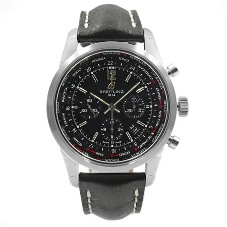 Breitling Transocean Chronograph AB0510U6/BC26 Steel Automatic Mens Watch