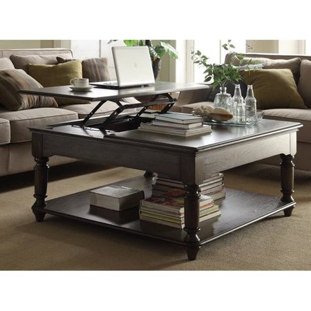 One Allium Way Palmquist Square Coffee Table With Lift Top Walmart Com