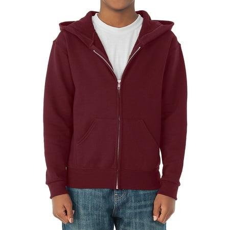 Jerzees Boys Pill Resistant Performance Fleece Full Zip Hoodie
