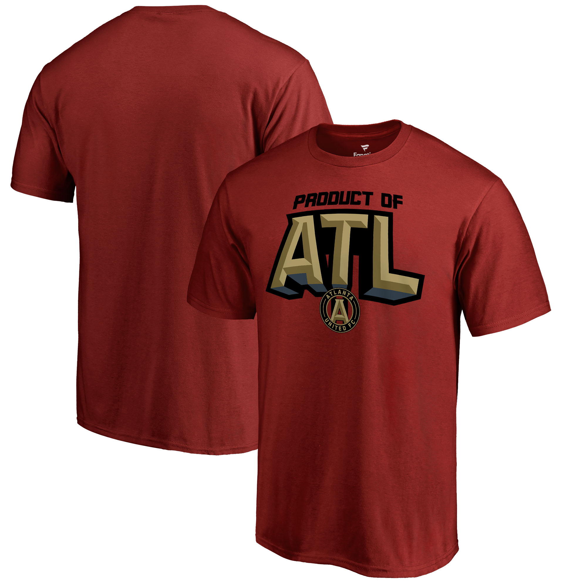 Atlanta United FC Fanatics Branded Hometown Collection ATL Product T-Shirt - Red