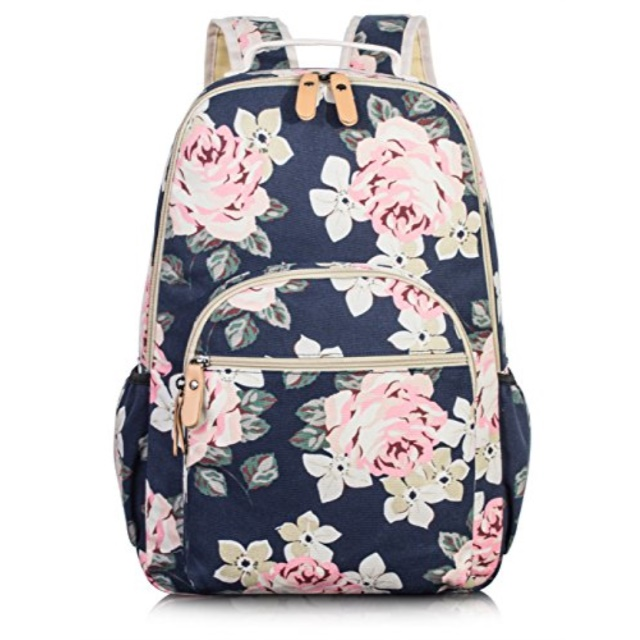TOPERIN - School Bookbags for Girls, Large