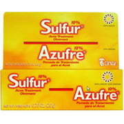 Grisi Sulfur Acne Treatment Ointment, .7 oz (Pack of 2)