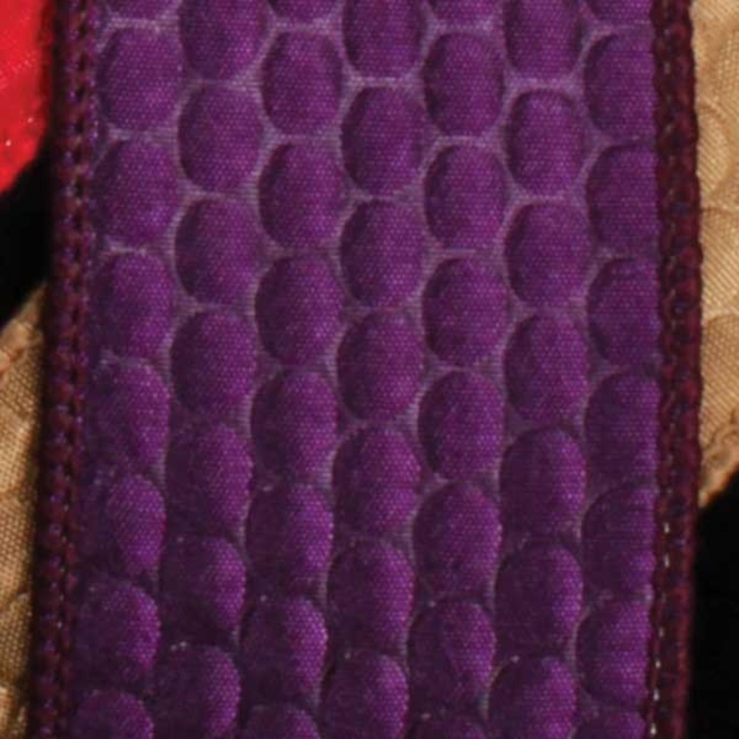 "Leapin' Lizard Scale Bright Purple Wired Craft Ribbon 1.5"" x 40 Yards"