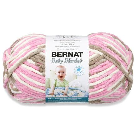 Bernat Baby Blanket Big Ball Yarn, Little Roses - Halloween Crafts Using Yarn