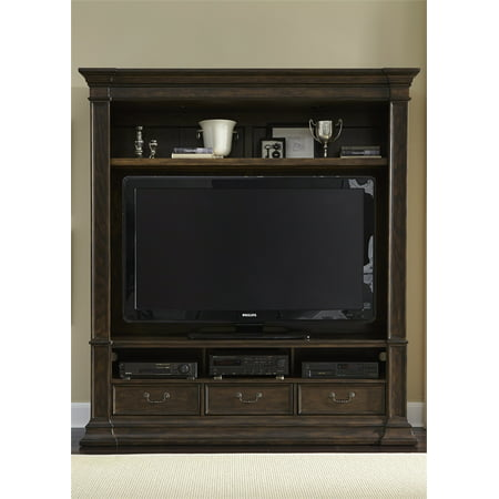 Liberty Mendenhall I Entertainment Center In Rustic Brown