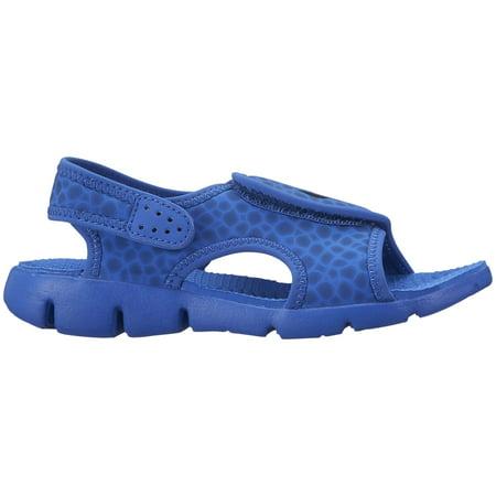 e428f5585f0f4 Nike Boys  Sunray Adjust 4 Sandals Game Royal Obsidian 13C - Walmart.com