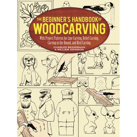 Dover Woodworking: The Beginner's Handbook of Woodcarving