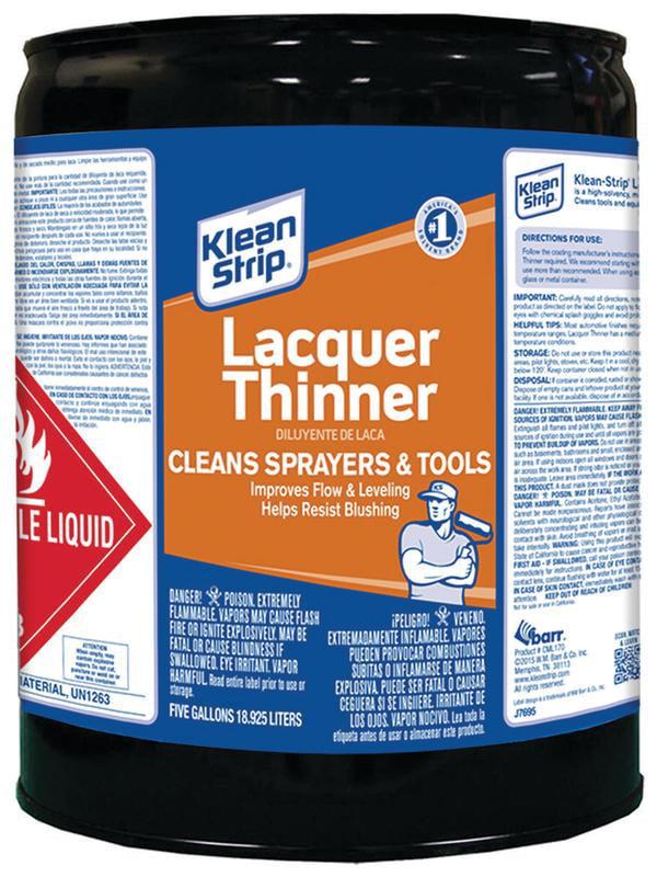 Klean Strip Lacquer Thinner, 1 Quart - Walmart.com