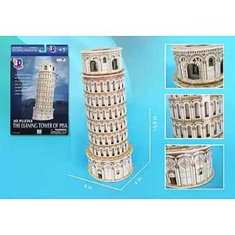 Leaning Tower of Pisa 3D Puzzl