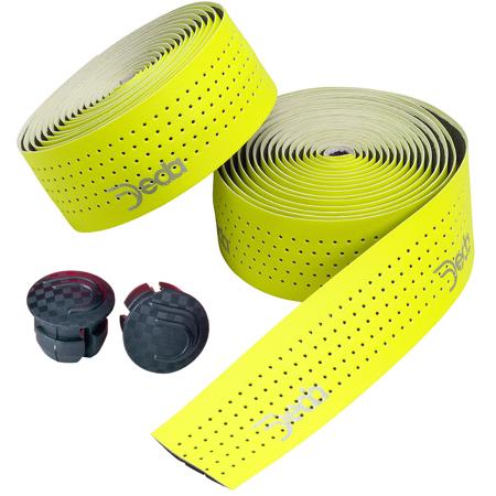 Deda Mistral Synthetic Leather Handlebar Tape Fluorescent Yellow Road Cross Bike Deda Elementi Handlebar Tape