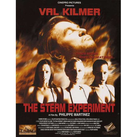 The Steam Experiment POSTER Movie Mini - Halloween Experiments