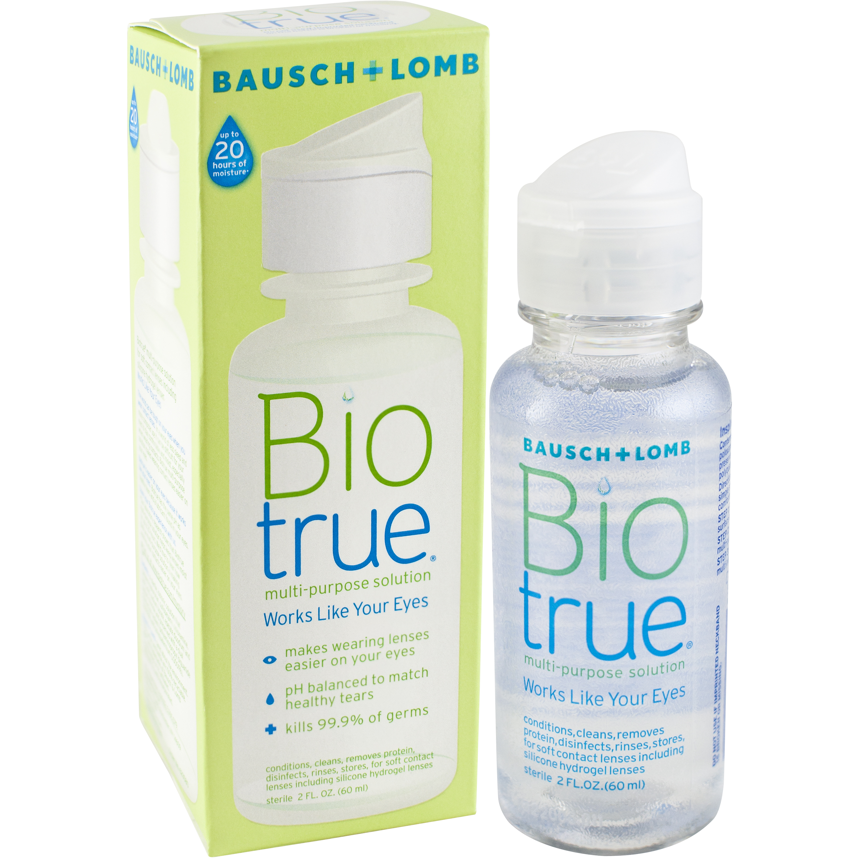 Bausch & Lomb Biotrue Multi-Purpose Solution, 2 fl oz