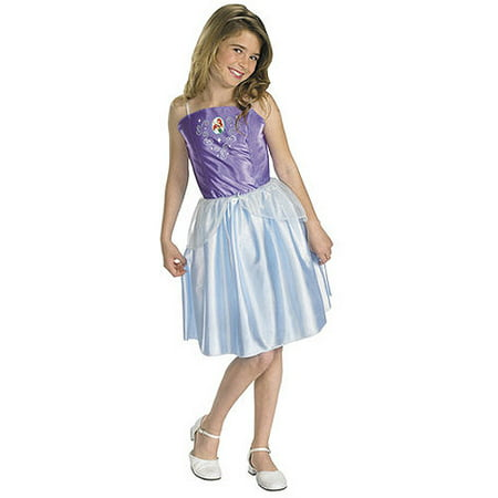 Little Mermaid Ariel Child Halloween Costume, One Size - S (4-6) - Little Mermaid Child Costume