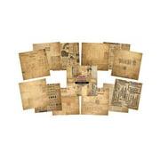 """IndigoBlu Paper Stack 190gsm Cardstock 12""""X12""""-Fontastic Ephemera"""