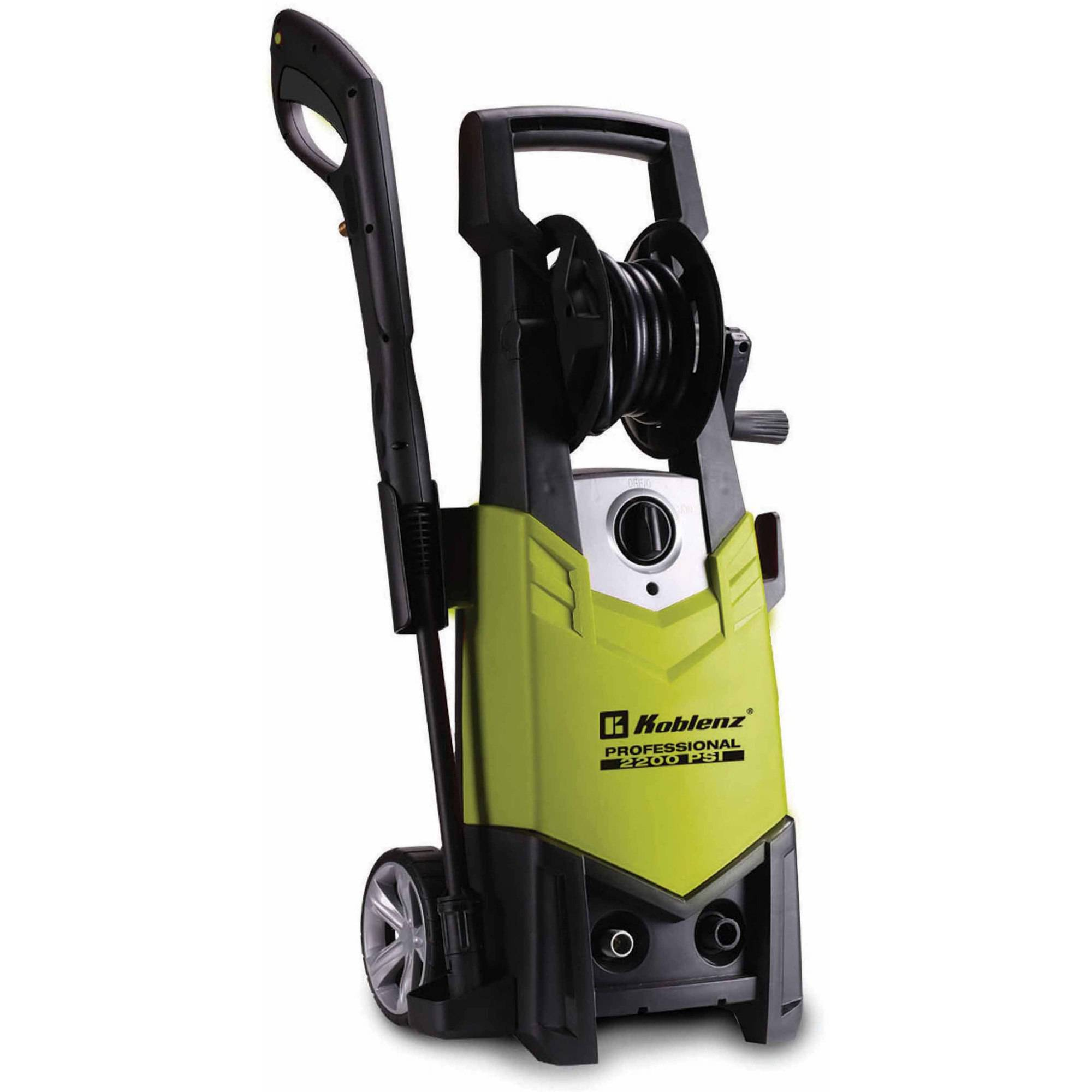 Koblenz 2200 PSI Pressure Washer, Yellow