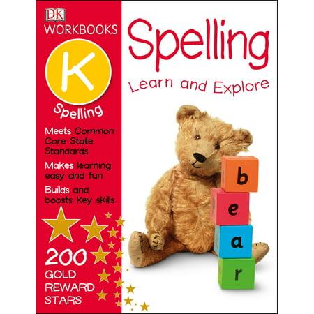 DK Workbooks: Spelling, Kindergarten (Paperback)](Halloween Books For Kindergarten Class)