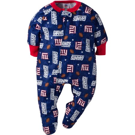 23556098 NFL New York Giants Baby Boys Team Blanket Sleeper