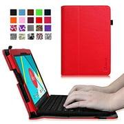 "Fintie Nextbook Ares / Nextbook Flexx 11.6"" Case - Premium PU Leather Folio Cover With Stylus Holder, Red"