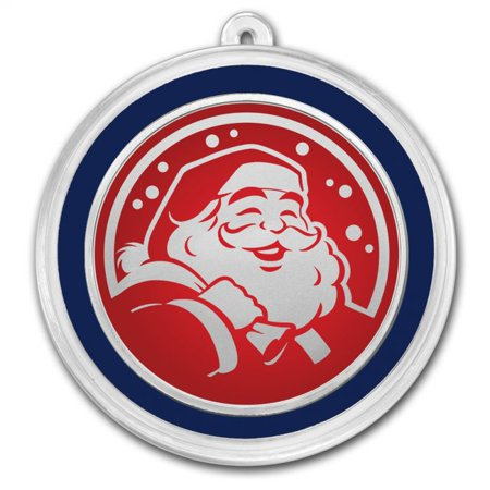 Santa Claus - 1 oz Silver Holiday Round ()