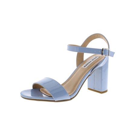 Steve Madden Womens Selfish Block Heel Dress Sandals