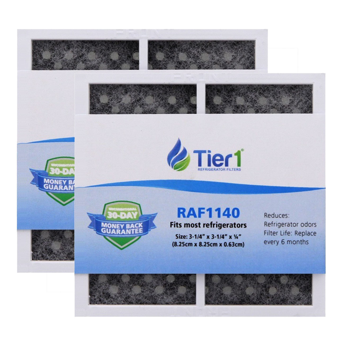Tier1 Replacement for LG LT120F ADQ73214402, ADQ73214404 Kenmore Elite 46-9918 Replacement Refrigerator Filter 2 Pack