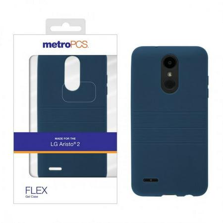 LG ARISTO 2 METRO PCS FLEX GEL CASE-BLUE - Walmart com