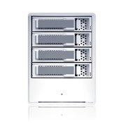 Sans Digital MR4UT 4 Bay SATA to USB2  eSATA HW RAID Enclosure