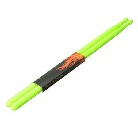 Ktaxon 1 x Pair of Lightweight 5A Light Green Nylon Material Drum Sticks - Bulk Drum Sticks