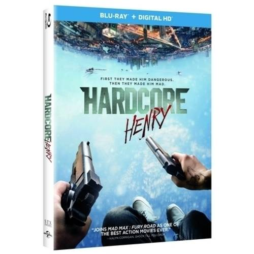 Hardcore Henry (Blu-ray + Digital HD) (With INSTAWATCH)