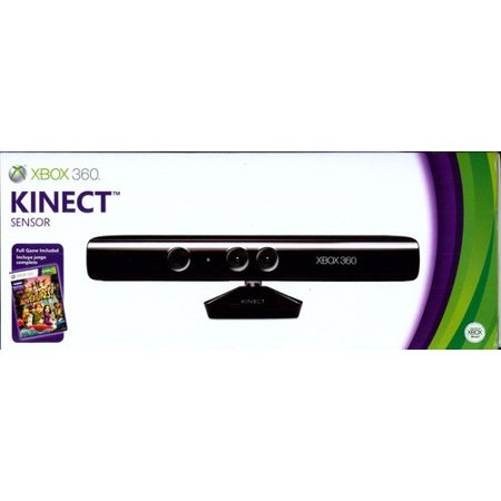 Microsoft xbox 360 kinect sensor with kinect adventures xbox 360 microsoft xbox 360 kinect sensor with kinect adventures xbox 360 sciox Images