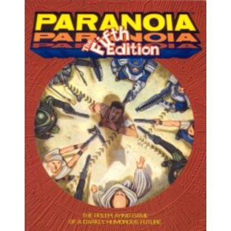 Paranoia - The Fifth Edition Used