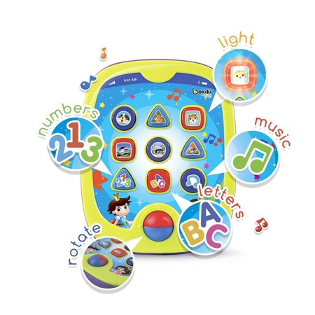 - Boxiki kids Smart Pad for Babies and Children Learning by Educational Toy for Infants with Kids' Learning Games. Learn Numbers, ABC Learning,